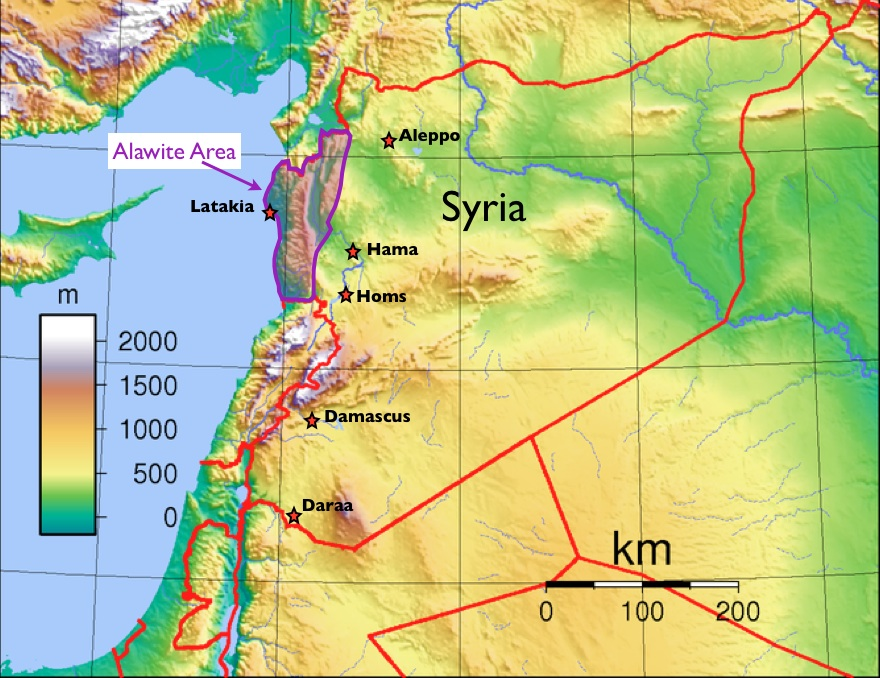 Confusion About Syrias Alawites GeoCurrents