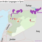 Map of Languages in Syria