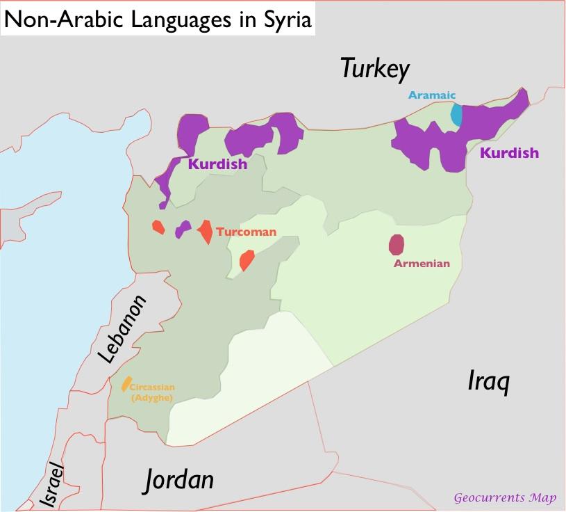 Religion GeoCurrents - Religion map of the world 2013