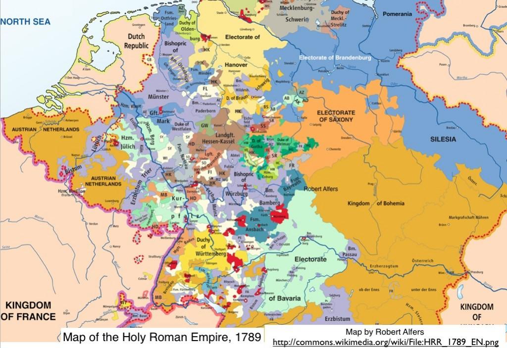 Holy Roman Empire World Map Holy Roman Empire 1789 1024x