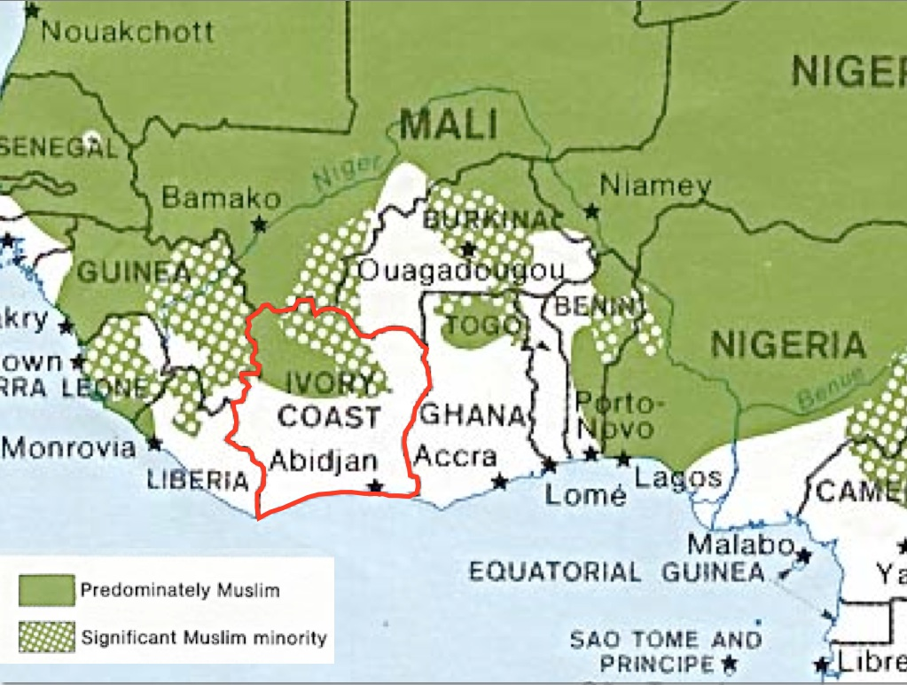 geography ivory coast Geography ivory coast the ivory coast (cote d'ivoire) has a long and intense history of facing hardships though the citizens gained independence from the french in 1960 after being colonized for roughly 67 years, they still face a countless number of economic, social and political issues.