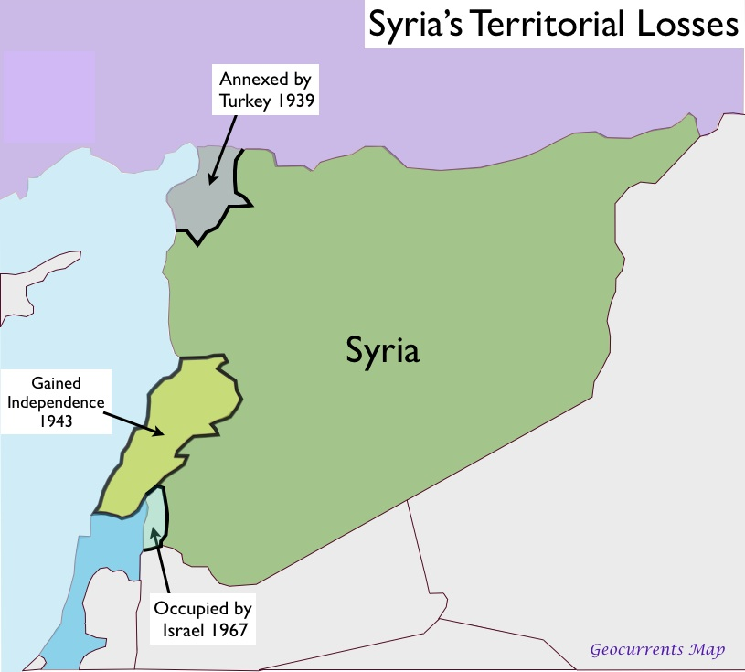 arab nationalism and syria Al-arsuzi and aflaq were syrian philosophers and arab nationalists however, al- bitar later removed himself from the movement ba'athism was formed during a.