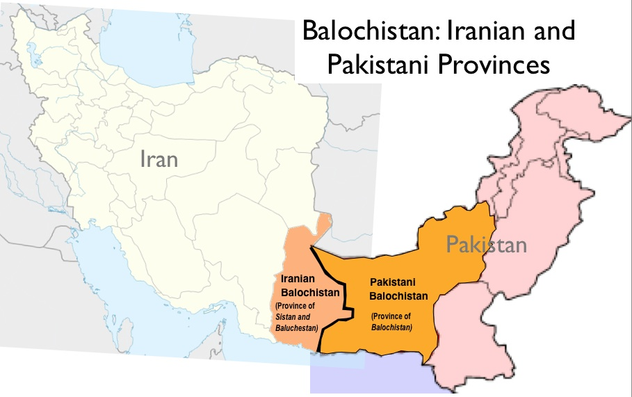 South asia 45 geocurrents map of baloch provinces in pakistan and iran gumiabroncs Images