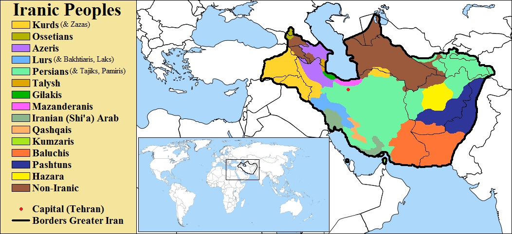 Mapofgreateriran geocurrents map of greater iran from iranian defense sciox Choice Image