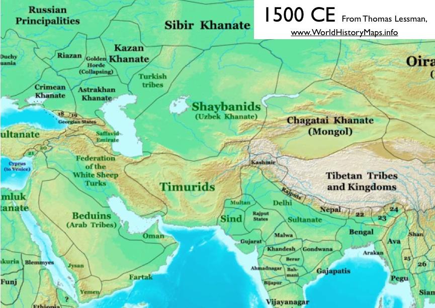 uzbekistan political map choice image
