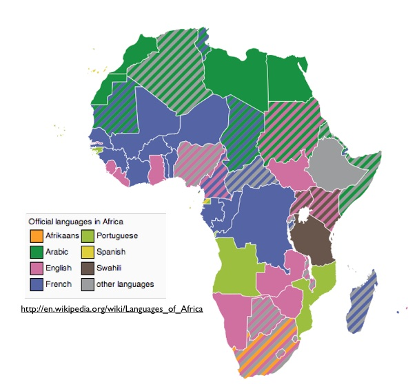 Country Names in Africa GeoCurrents