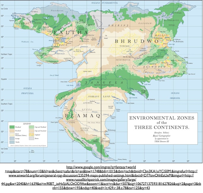 geography and science fiction the creation of realistic alternative worlds