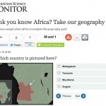 Africa Quiz from the Christian Science Monitor