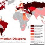 Wikipedia map of the recent Armenian Diaspora