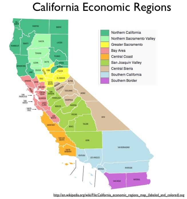 Northern California GeoCurrents