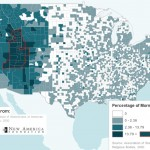 Slate Magazine Map of Mormons in the US, modified