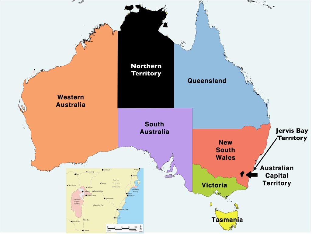 australia states and territories map submitted by martin w lewis on march 9 2012 937 pm