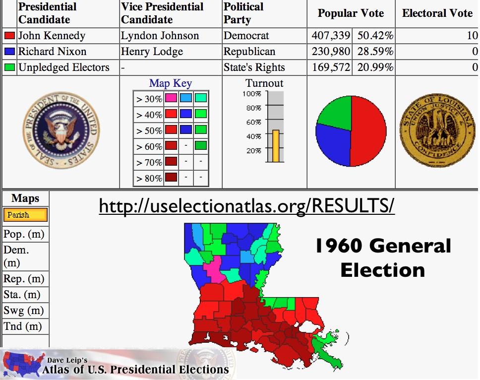 Louisiana Elections 1960