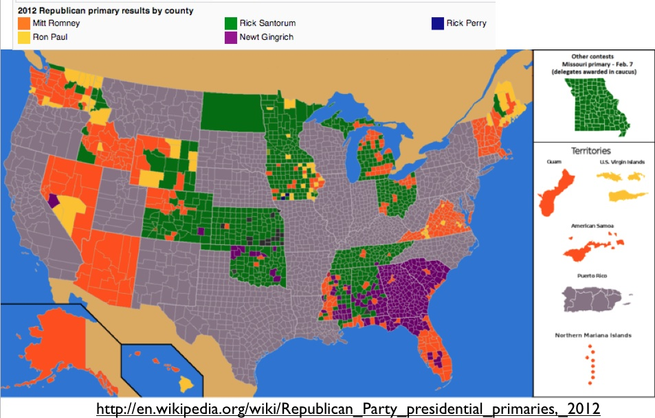 Electoral Geography GeoCurrents - Map of us and counties 2012