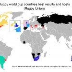 Rugby Union World Map Wikipedia