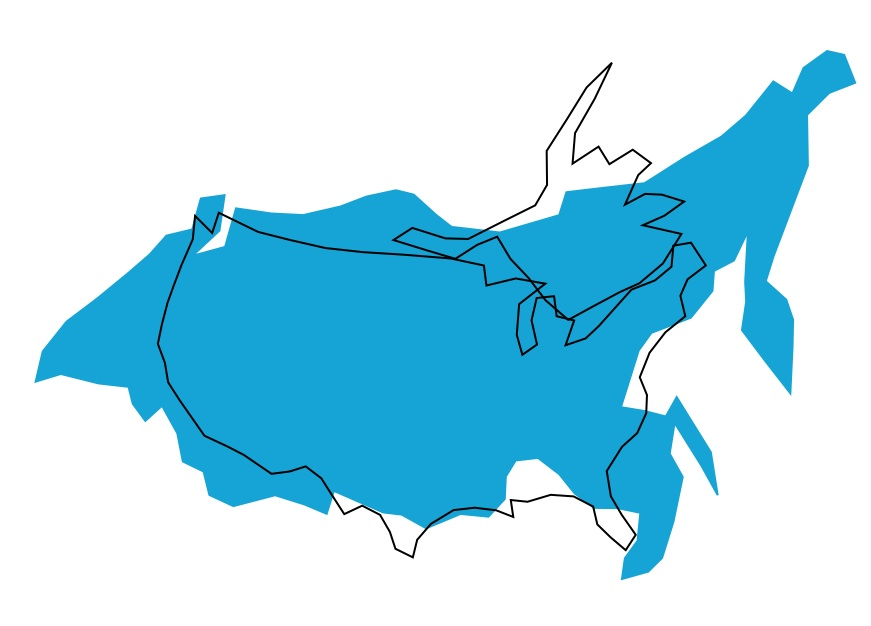 GeoCurrents The Geography Blog Of Current Events - Germany us comparison map