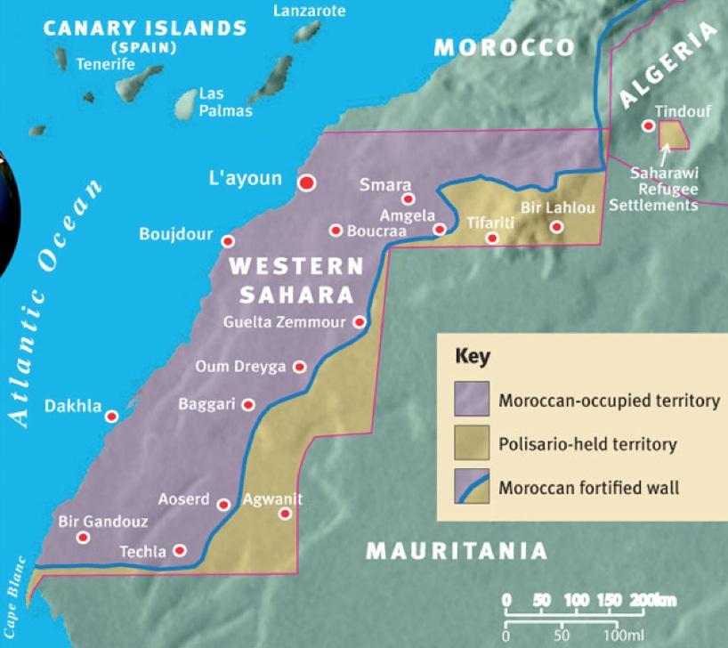 Western Sahara 810x728 MapPorn