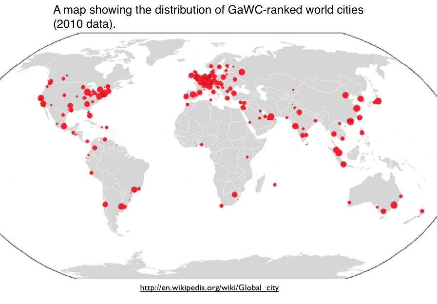 World cities geocurrents the concept of the global city or world city has gained traction over the past several decades the original formulation was rather vague sciox Choice Image
