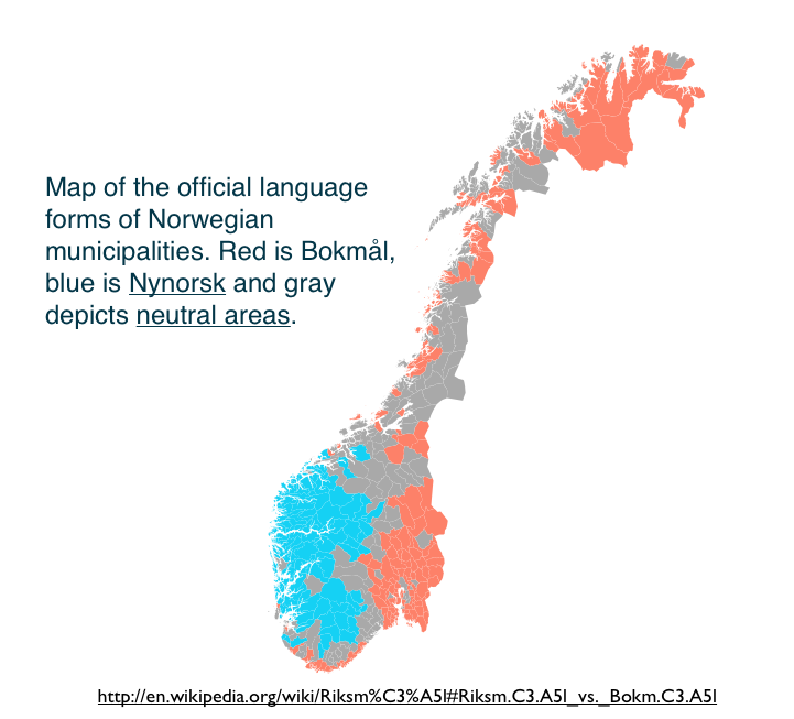 Archives GeoCurrents - Norway map population density