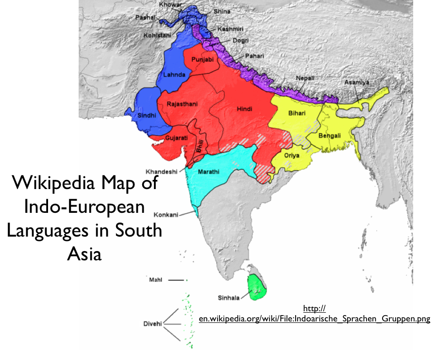 South Asian Languages Kindle Books PDF Downloads – The Map of South Asia