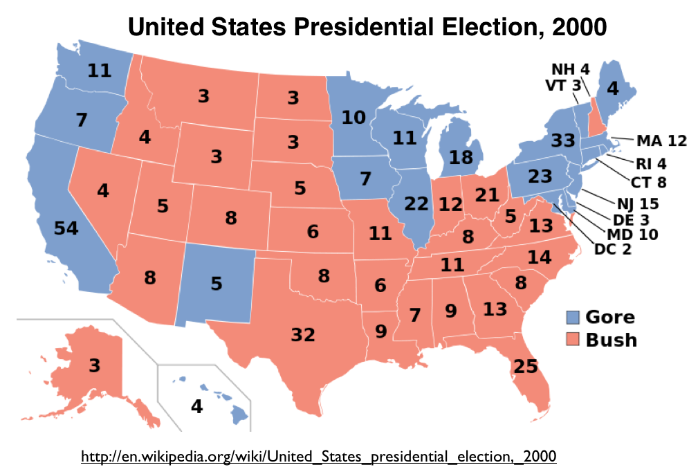 Clickable Map Of The United States Historical US Presidential - Us election results state map