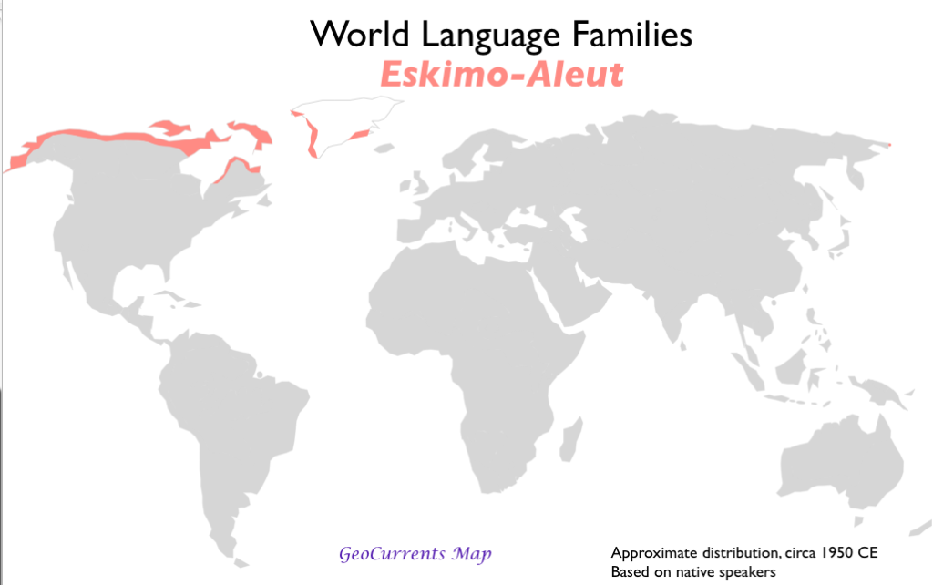 World Language Families Map GeoCurrents - Language family map