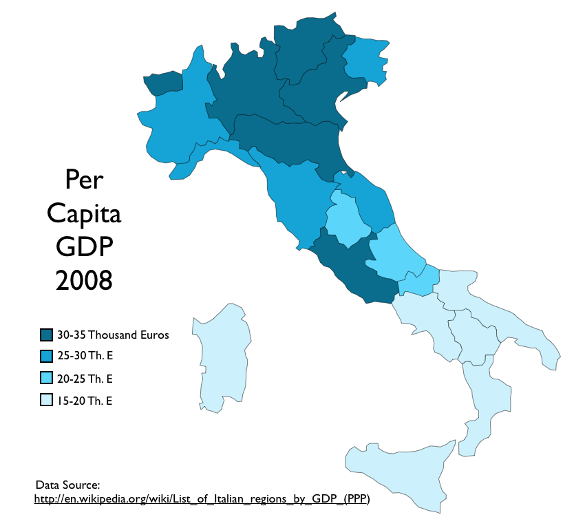 Election Returns And Economic Development In Italy