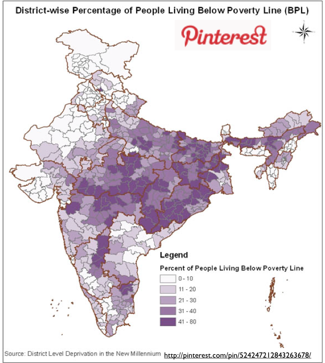 indian poverty India from the world bank: data data  poverty headcount ratio at national poverty lines (% of population) details life expectancy at birth, total (years).