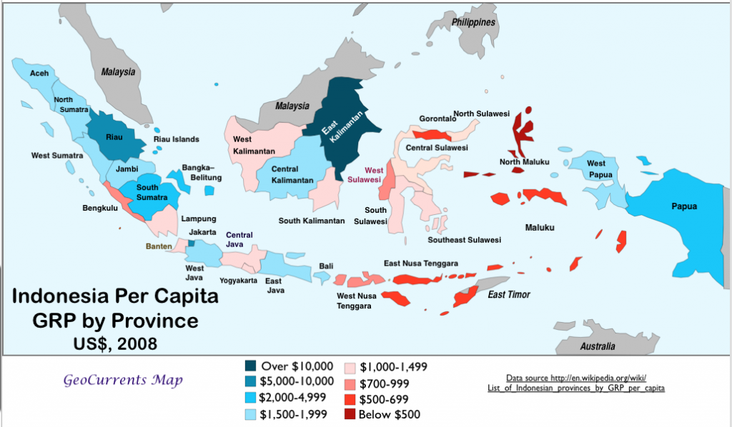 Gdp Map Asia