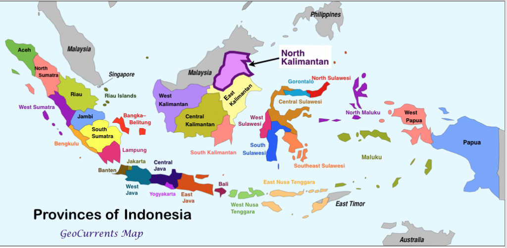 north kalimantan indonesias newest province and southeast asian geopolitical tensions