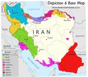Iran Main Languages Map GeoCurrents