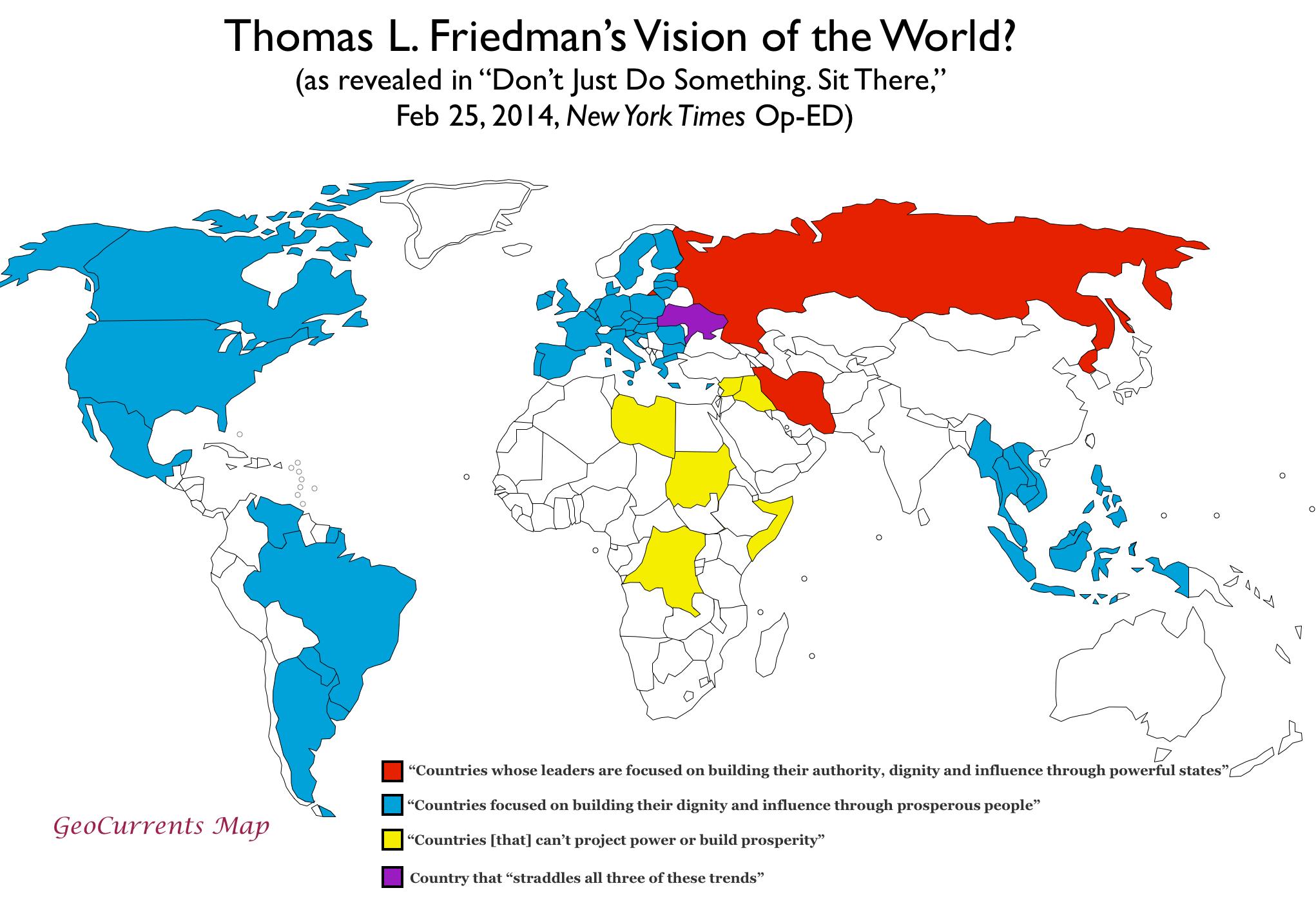 The bizarre world of thomas l friedman geocurrents friedmanmap gumiabroncs Images
