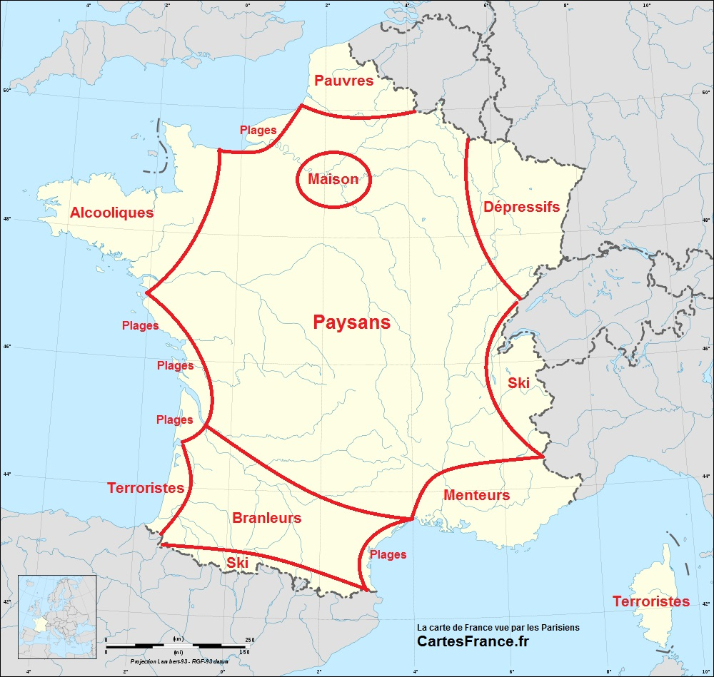 Farcical maps geocurrents for Farcical in french