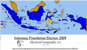 Indonesia 2009 Election Map