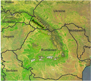 Ruthenia Map