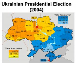 Ukraine2004ElectionMap