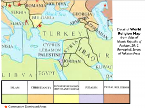 Eastern Mediterranean Religion Map