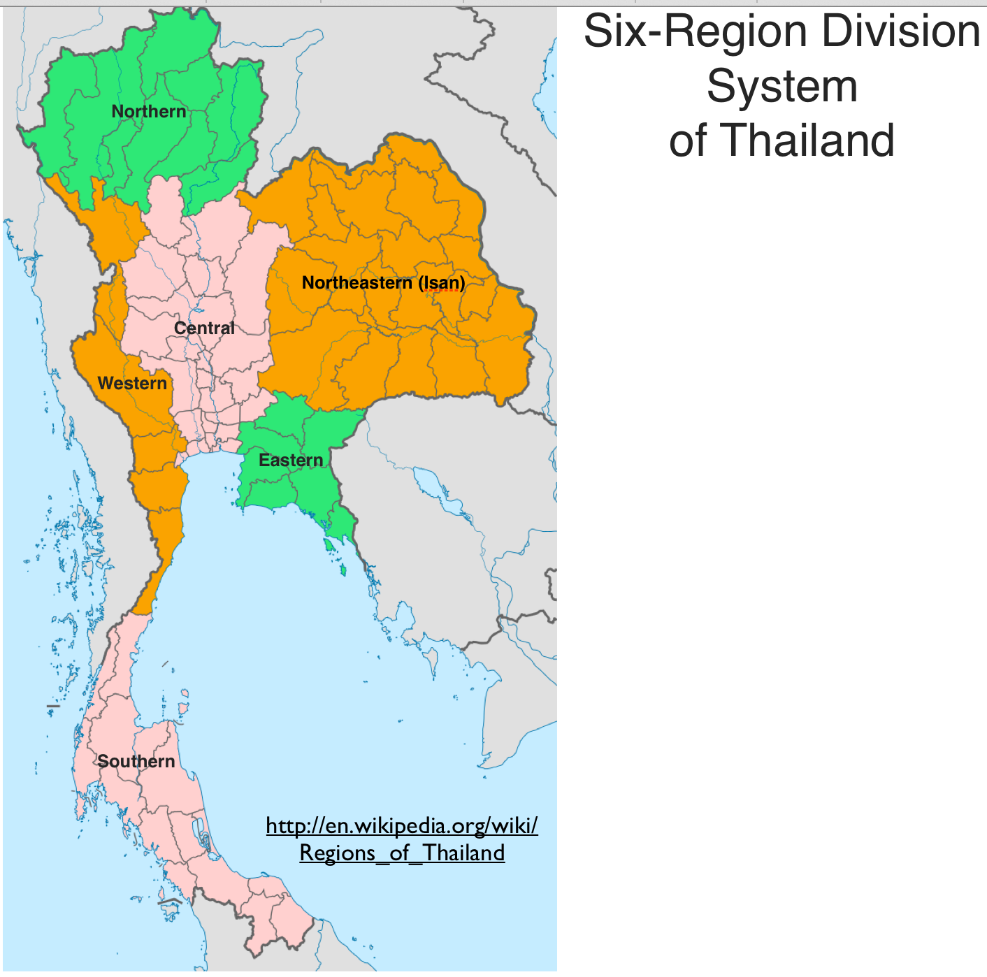 Thailands Political Crisis And The Economic Rise Of Its Eastern - Thailand regions map