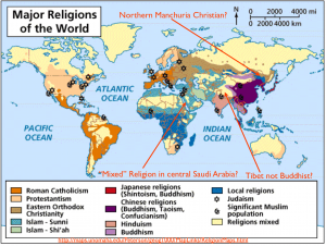 World Religion Map 3