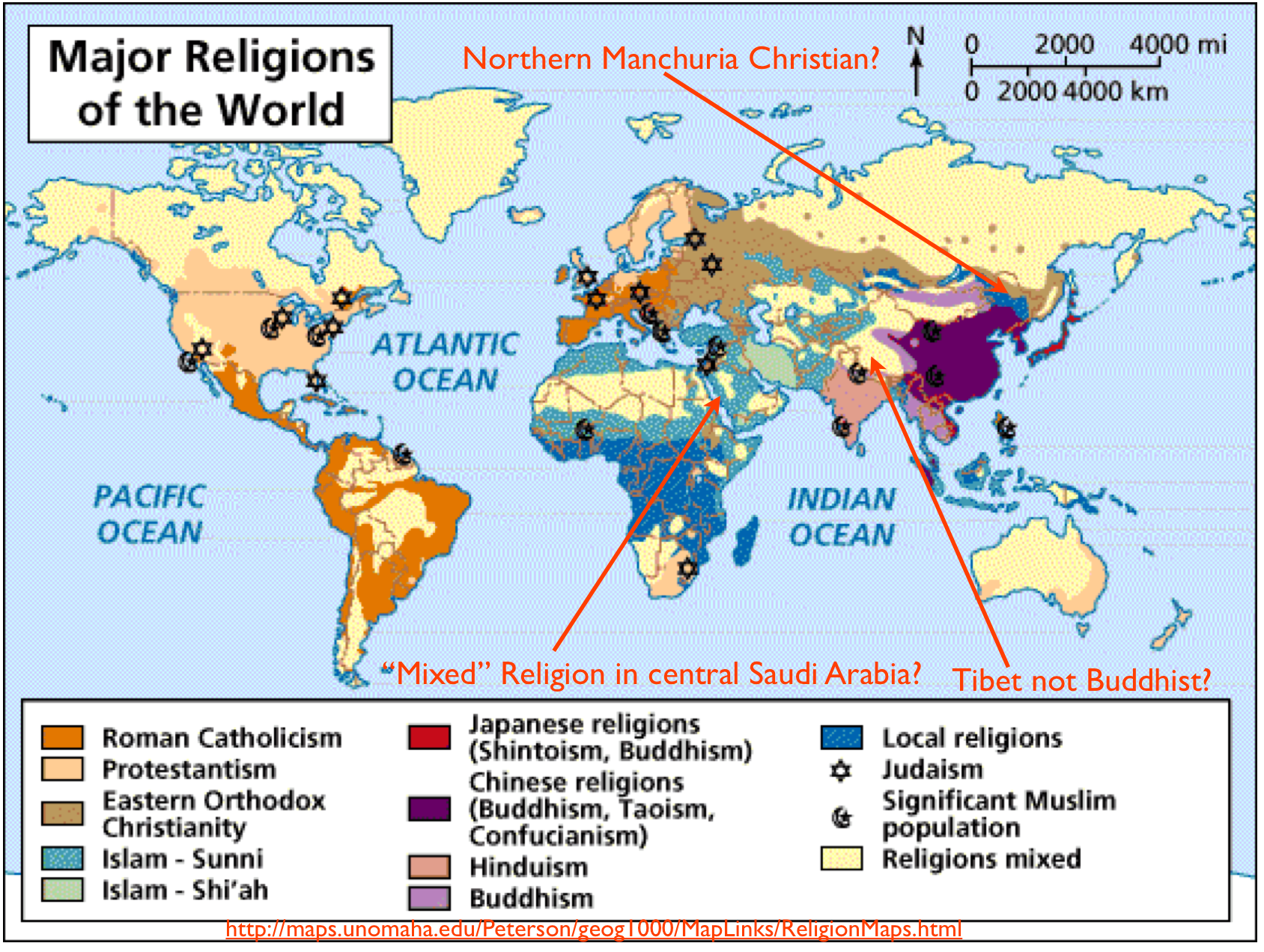Wikipedia The Difficulties Of Mapping World Religions And A Most - World population by religion