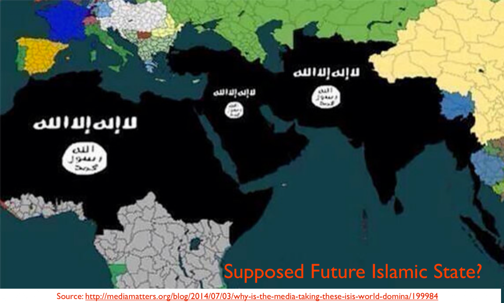 Islamic Caliphate Map Caliphate by The Islamic