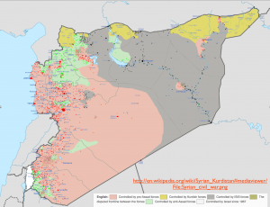 Syrian Political Situation Map