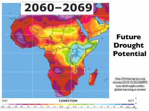 Africa 2060 Drought Map