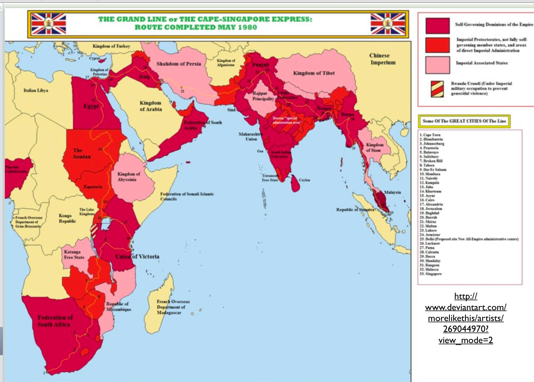 british empire fantasy map