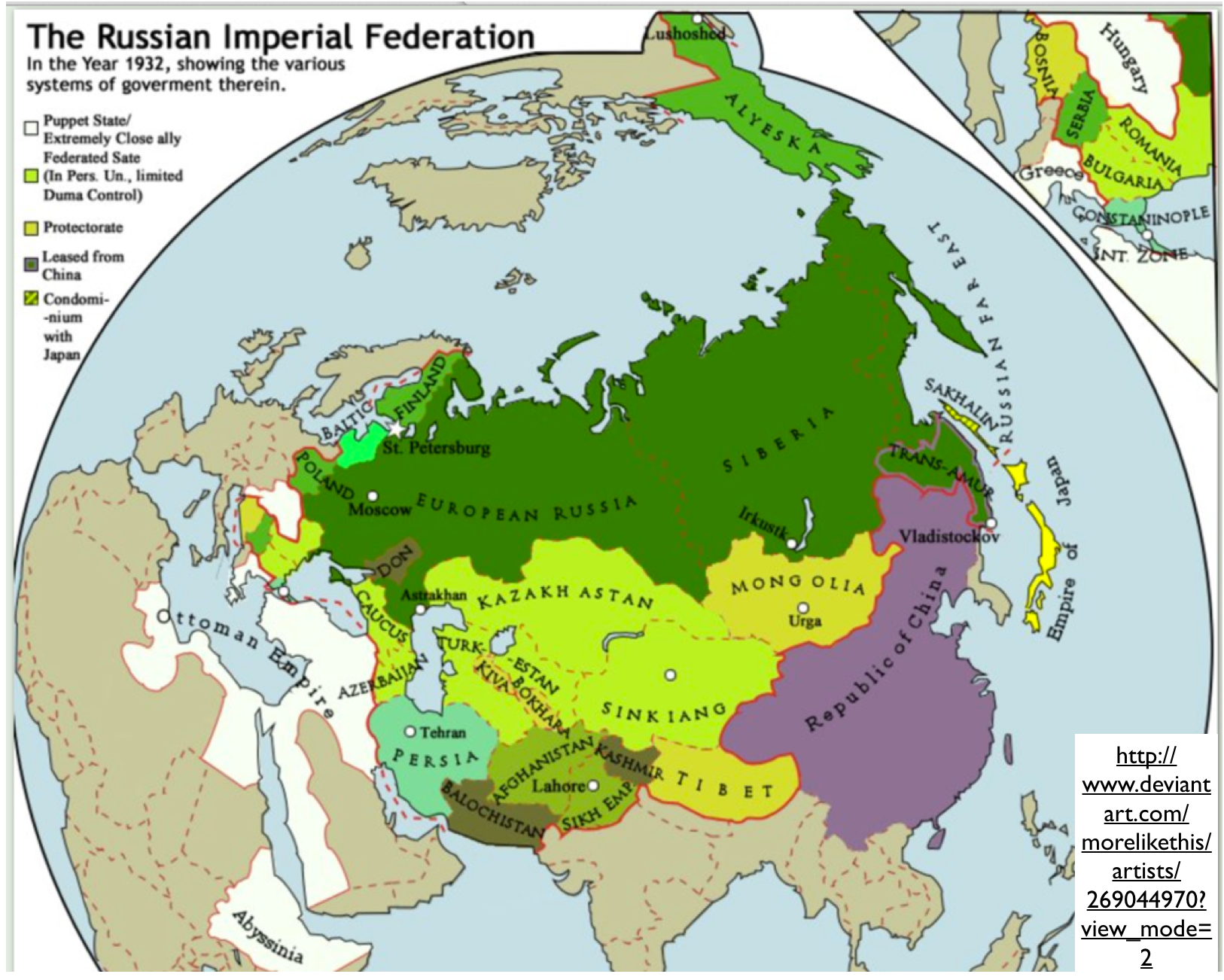 The Fantasy Political Maps Of DeviantART GeoCurrents - Russian federation map