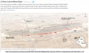 Mount Sinjar Map
