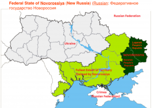 New Novorossiya map