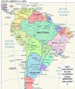 South America Fantasy Map