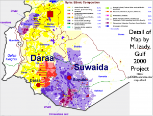 Syria Ethnicity Map Detail 1