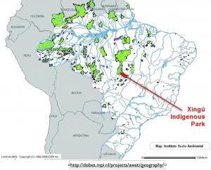 Brazil Parks Map